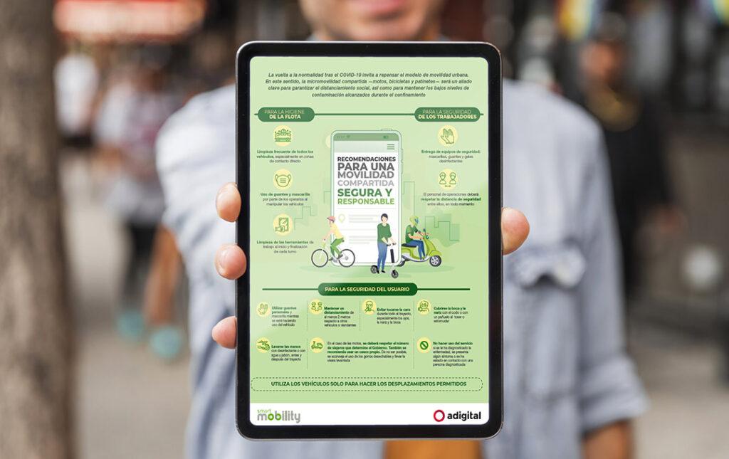 Guía para una movilidad compartida segura