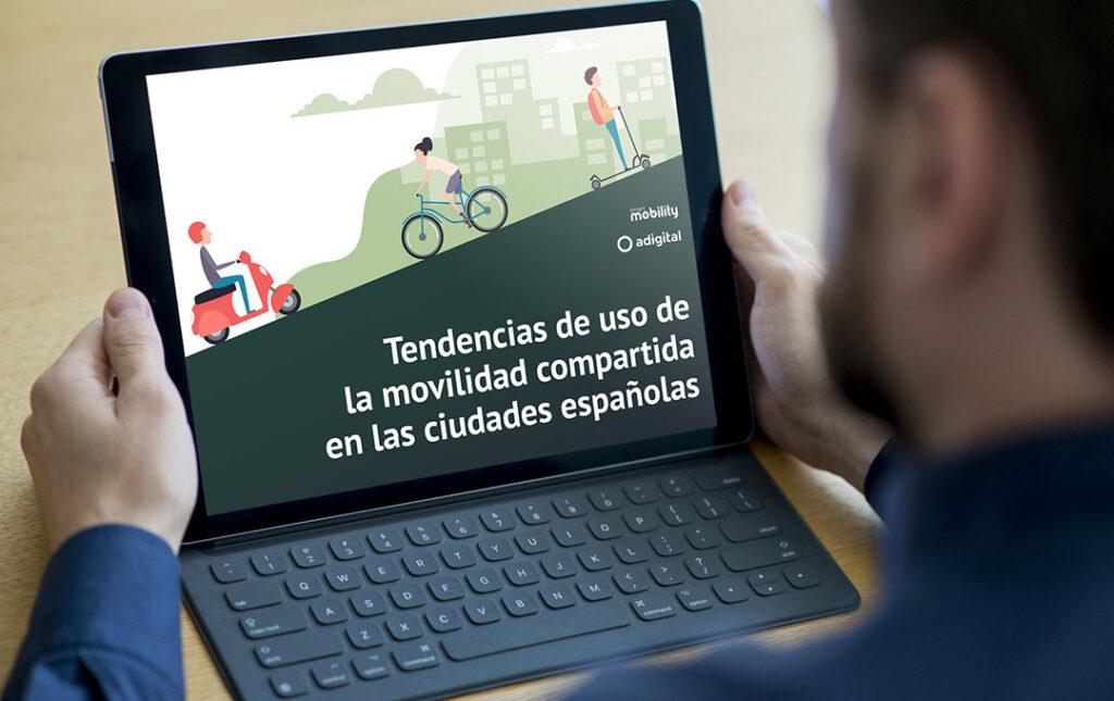 Tendencias de uso de la movilidad compartida en las ciudades españolas